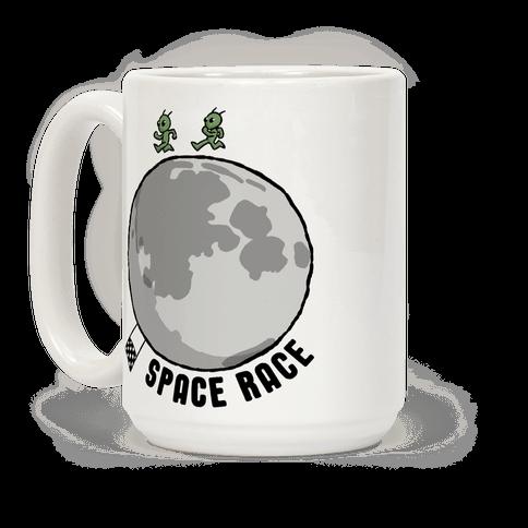 Space Race Coffee Mug