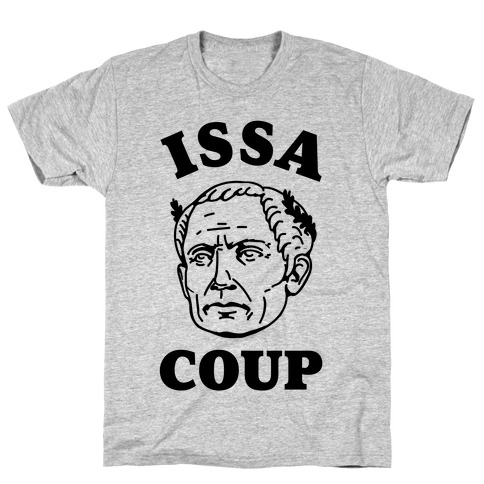 Issa Coup Mens T-Shirt