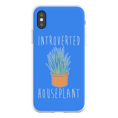 Introverted Houseplant Phone Flexi-Case