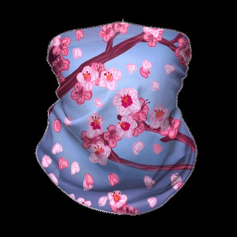 Cherry Blossom Painting Neck Gaiter