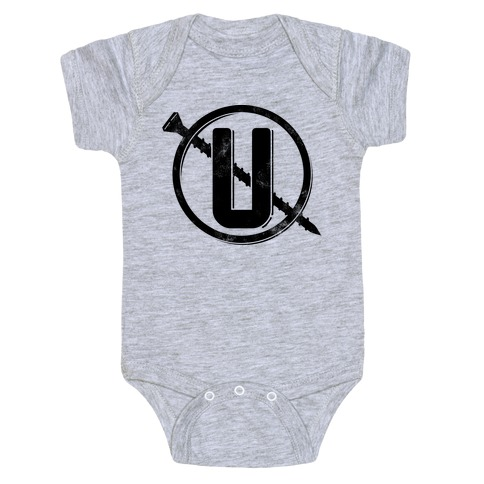 Screw You Necklace Logo Baby Onesy