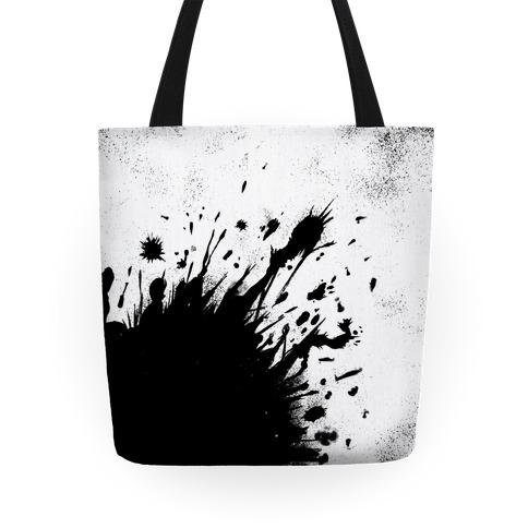 Paint Splatter Tote