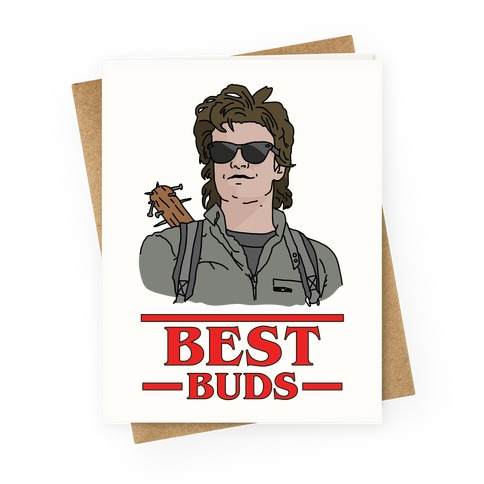Best Buds Steve Greeting Card