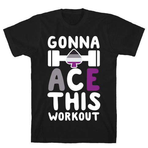 Gonna Ace This Workout Mens T-Shirt