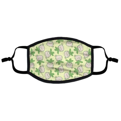 Purrnip Flat Face Mask