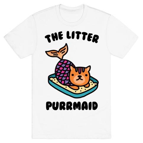 The Litter Purrmaid T-Shirt
