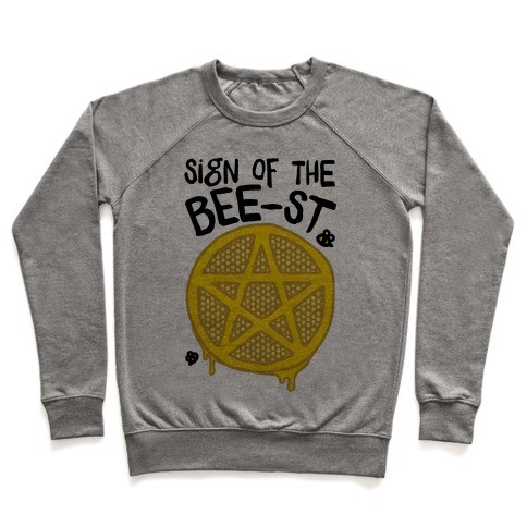 Sign Of the Bee-st Satanic Bee Parody Pullover