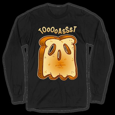 Toast Ghost Long Sleeve T-Shirt