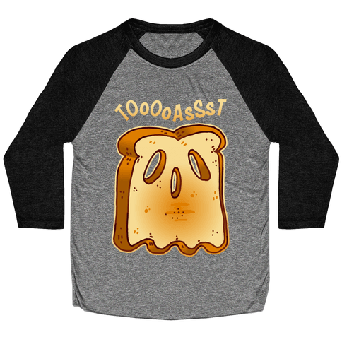 Toast Ghost Baseball Tee
