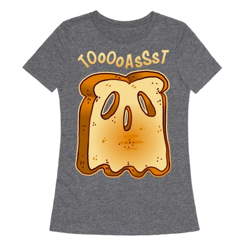 Toast Ghost Womens T-Shirt