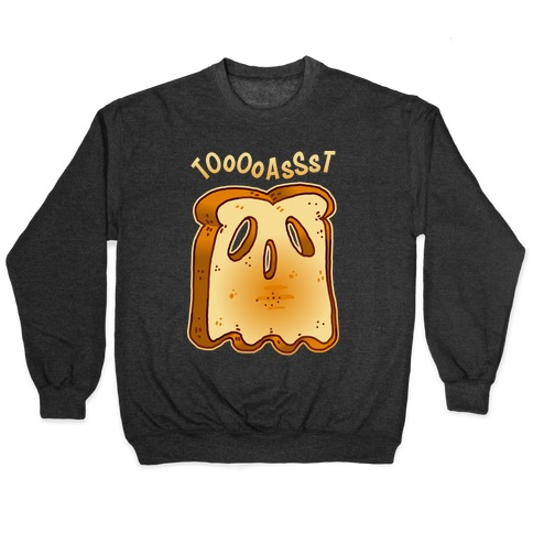 Toast Ghost Pullover