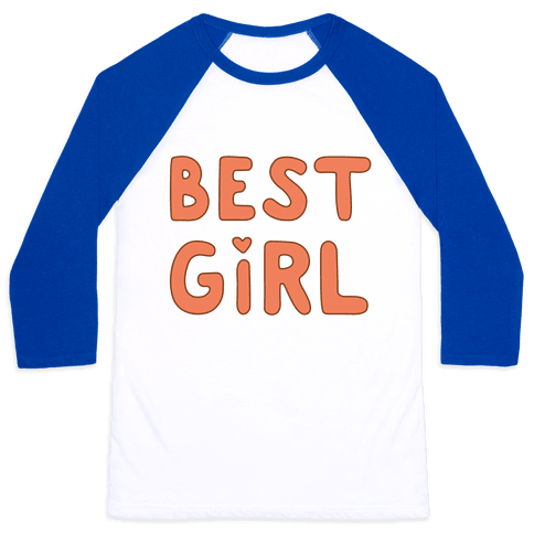 Best Girl Baseball Tee