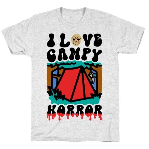 I Love Campy Horror Parody T-Shirt
