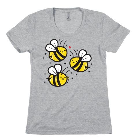 Bee Booties Womens T-Shirt