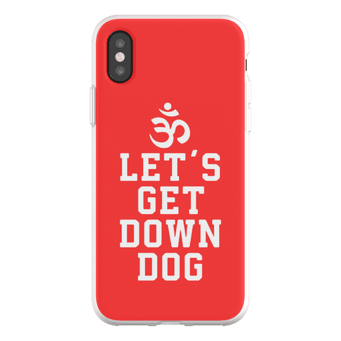Let's Get Down Dog Phone Flexi-Case