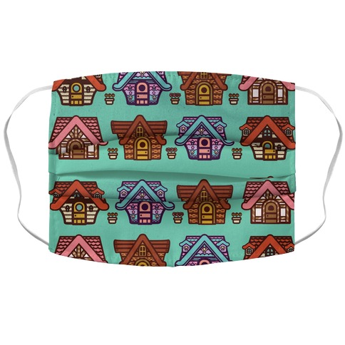 Nook's Homes Pattern Face Mask Cover