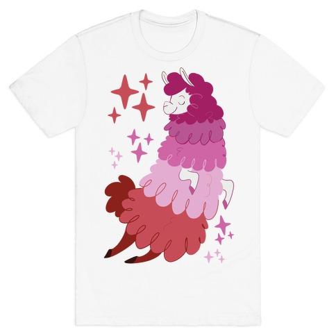 Lesbian Llama T-Shirt