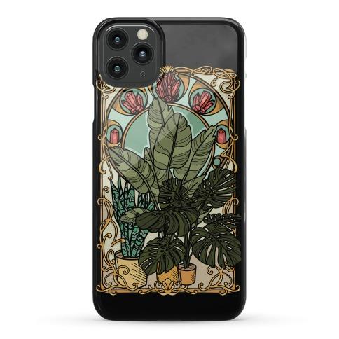 Art Nouveau House Plants Phone Case