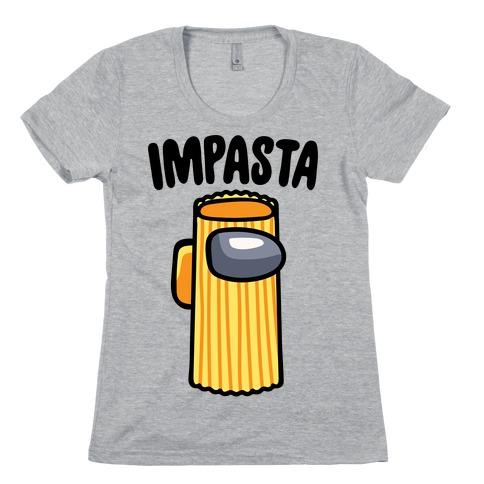 Impasta Parody Womens T-Shirt
