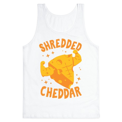Shredded Cheddar Tank Top