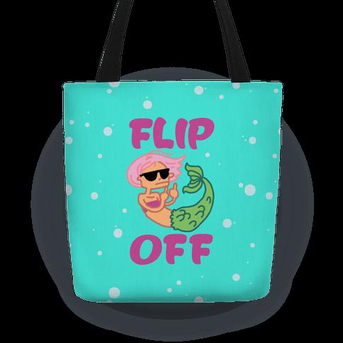 Flip Off Tote
