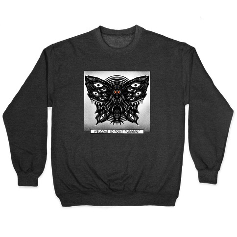 Welcome To Point Pleasant Mothman Manga Pullover