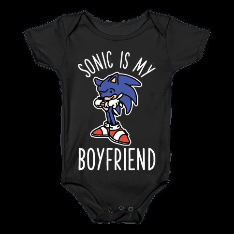 Sonic is my Boyfriend Baby Onesy