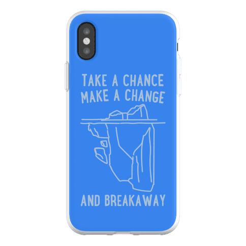 Breakaway Iceberg Parody Phone Flexi-Case