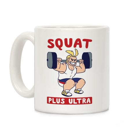 Squat Plus Ultra - All Might Coffee Mug