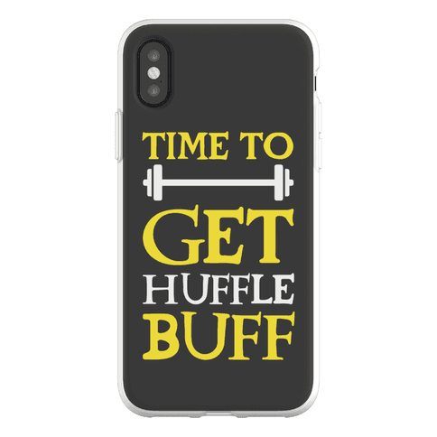 Time To Get Huffle Buff Phone Flexi-Case