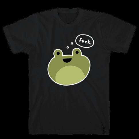 F*** Frog (Uncensored) Mens/Unisex T-Shirt