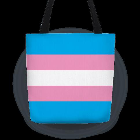 Trans Pride Flag Tote