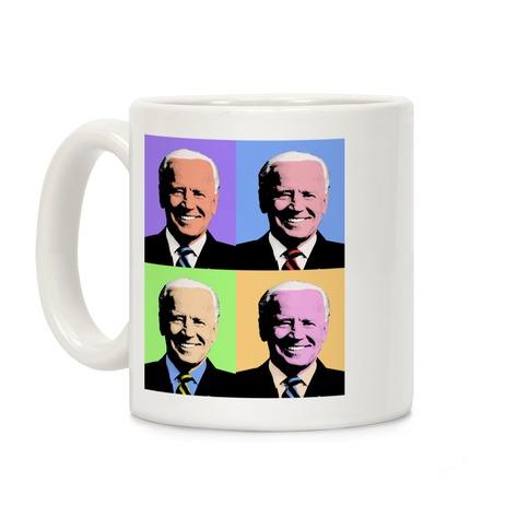 Pop Art Joe Biden Coffee Mug