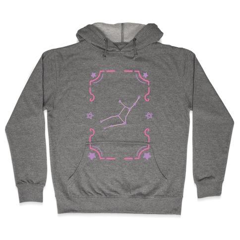 Virgo Star Card Hooded Sweatshirt