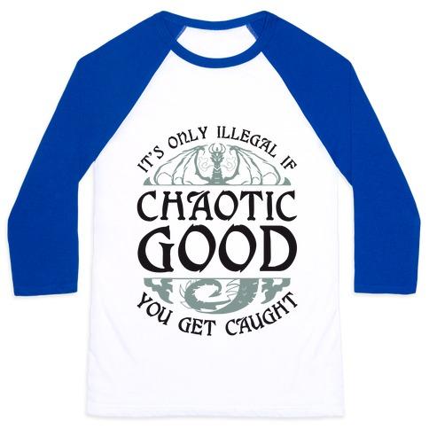Chaotic Good Baseball Tee