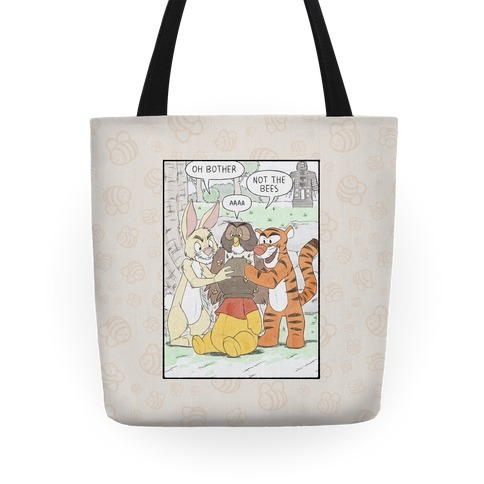 Not The Hunny Bees Tote