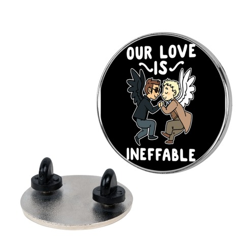Our Love is Ineffable - Good Omens Pin