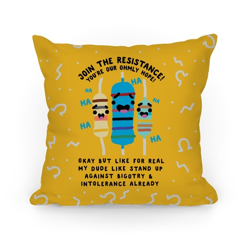 Join the Resistance Pillow