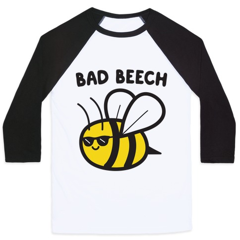 Bad Beech Bee Baseball Tee