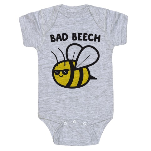 Bad Beech Bee Baby Onesy