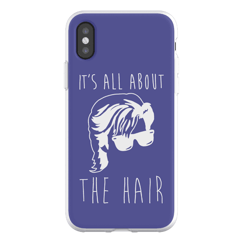 It's All About The Hair Parody Phone Flexi-Case