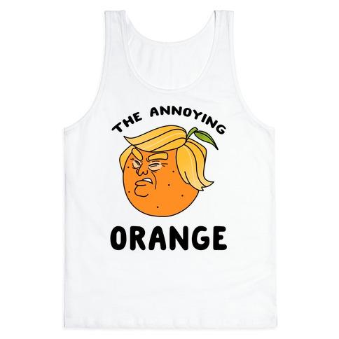 The Annoying Orange Tank Top