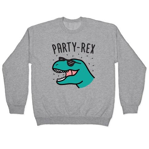 Party-Rex Dinosaur Pullover