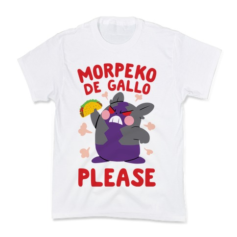 Morpeko De Gallo Please Kids T-Shirt