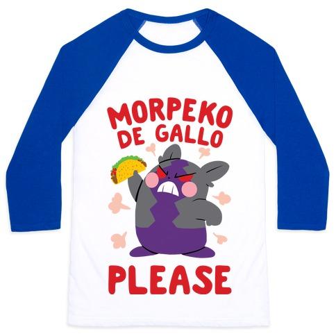 Morpeko De Gallo Please Baseball Tee