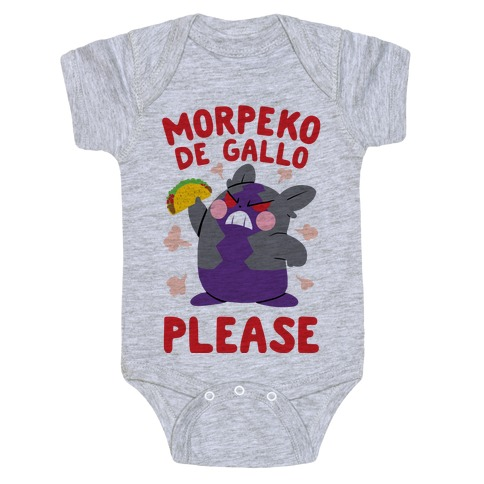 Morpeko De Gallo Please Baby Onesy