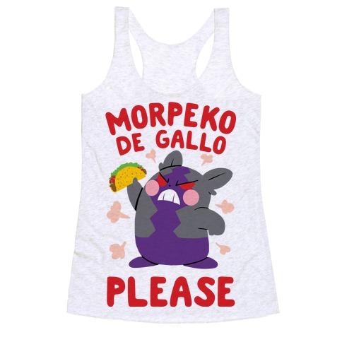 Morpeko De Gallo Please Racerback Tank Top