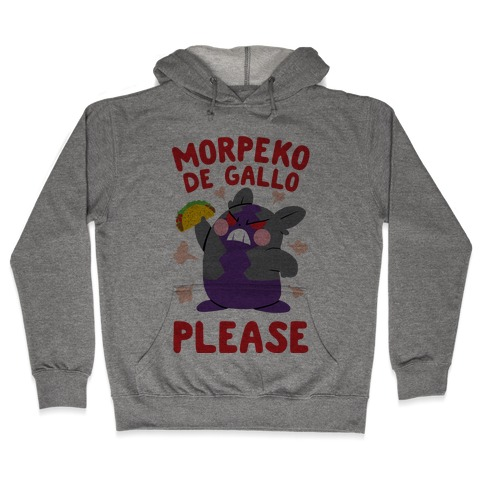 Morpeko De Gallo Please Hooded Sweatshirt