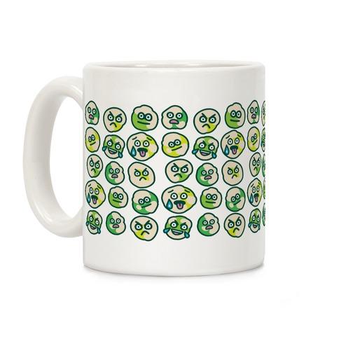 Wasabi Peas Pattern Coffee Mug