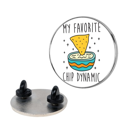 My Favorite Chip Dynamic (Chips & Queso) Pin
